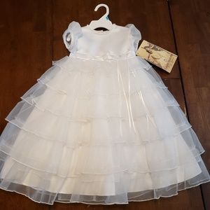 Stunning Christening or Baptism Gown 6-9 months